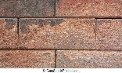 A brick is building materia