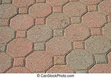 Brick pavers background texture - A Brick pavers background ...