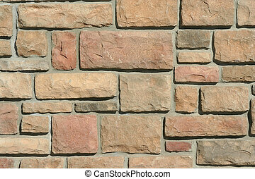 A brick wall background