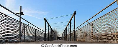 A bridge on the park
