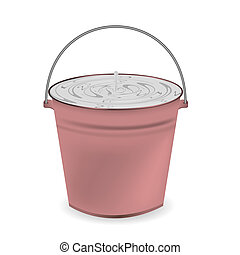 a bucket of milk for your design