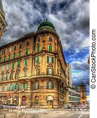 A building in Rijeka city center - Croatia