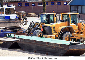 A bulldozer is also called ground plunger