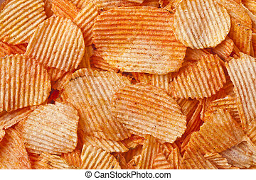 barbecue flavored potato chips - A bunch of barbecue...