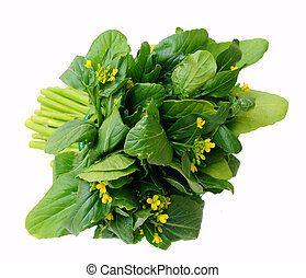 a bunch of chinese spinach