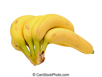 a bunch of ripe banana