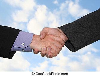 handshake - a business handshake