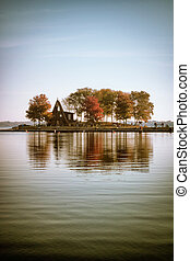 A Cabin on the lake