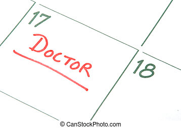 Doctors Appointment - A calendar reminder for a Doctors ...