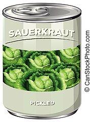 A Can of Sauerkraut