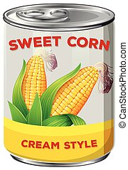 A Can of Sweet Corn