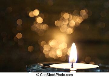 A candle light