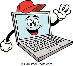 Computer Repair Mascot