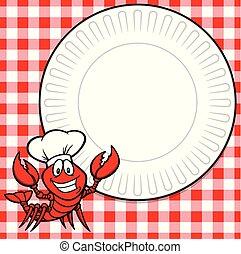 Crawfish Supper Invitation