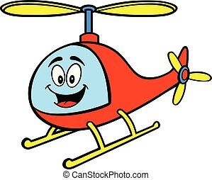 Helicopter Mascot