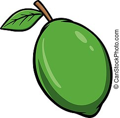 Lime - A cartoon illustration of a Lime.