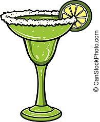 A cartoon illustration of a Margarita.