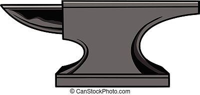 Anvil - A cartoon illustration of an Anvil.