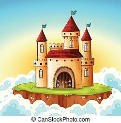 A castle on the sky