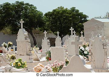 A cemetery in Portugal