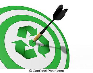 a, centro, é, a, recicle