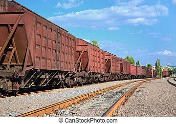 cargo wagons