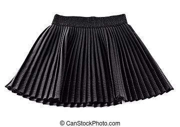 Chorna invention pleated short skirt woman - a Chorna...