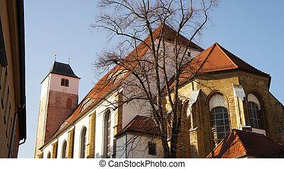 A church in Saxony, Germany