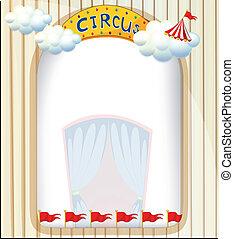 A circus entrance