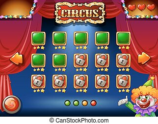 A circus game