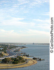 a city view