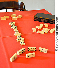 Dominoes - A Classic Game of Dominoes