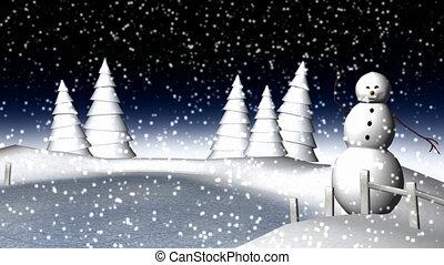 A Classical Winter Scene