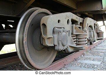 Train drive wheel
