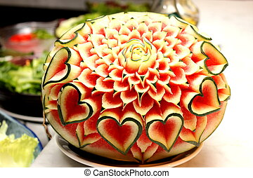 Fruit Vegetable Carving Stock Photo Images 1 505 Fruit Vegetable