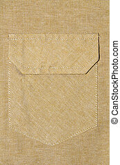 cloth texture with bag - a cloth texture with bag