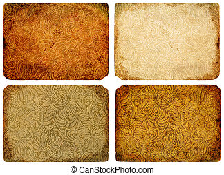 A collection of abstract vintage background. - A collection...