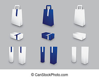 A collection of gift packaging