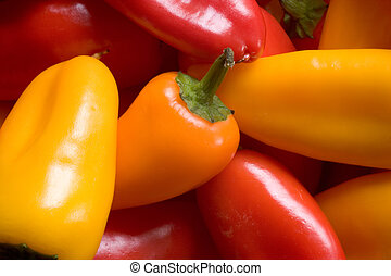 A Collection of Sweet Peppers - Photo of a collection of ...