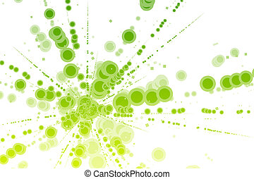 Color Energy Burst - A Color Energy Burst Abstract...