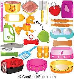 Cats / Dogs, Food and Accessories