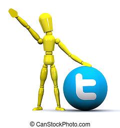 Tweeting Concept
