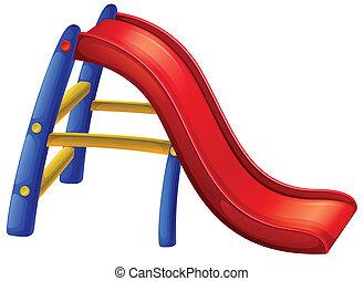 A colourful slide