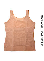 compression A-shirt - a compression A-shirt isolated on a...