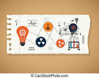 a, conceito, de, educação