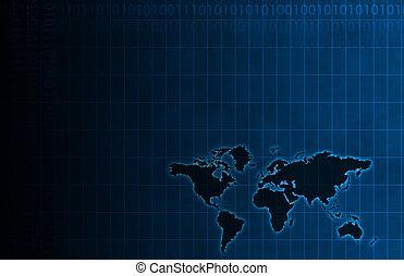 a, constitué, données, diagramme