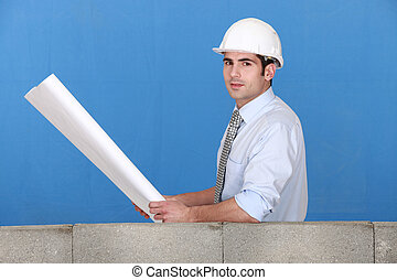 a construction manager