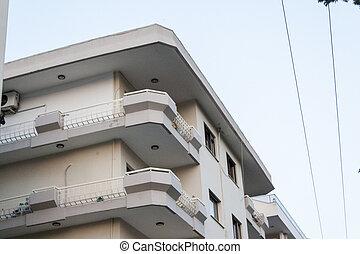 A Corner from an Apartment, Urban Street