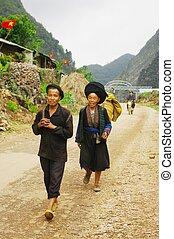 A couple Dao ethnic silver