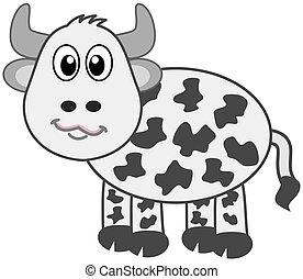 a cow profile